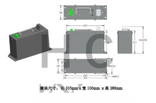 90V 83F 锂离子电容器模组规格