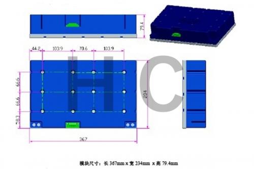 160V 5.8F 模组规格