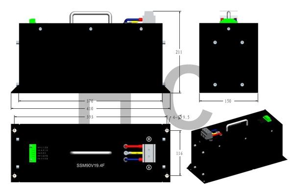 90V 19.4F 模组规格